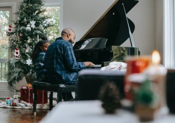 piano playing adult